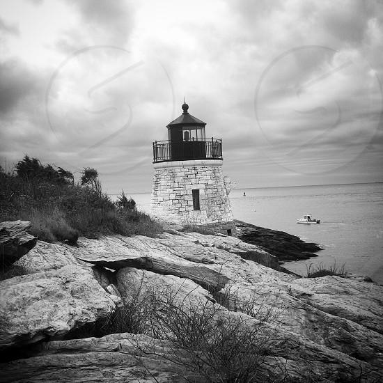 Castle Hill Lighthouse - Newport Rhode Island photo