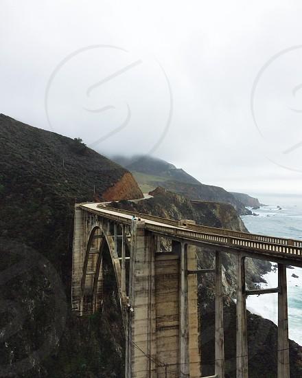 mountain bridge photo