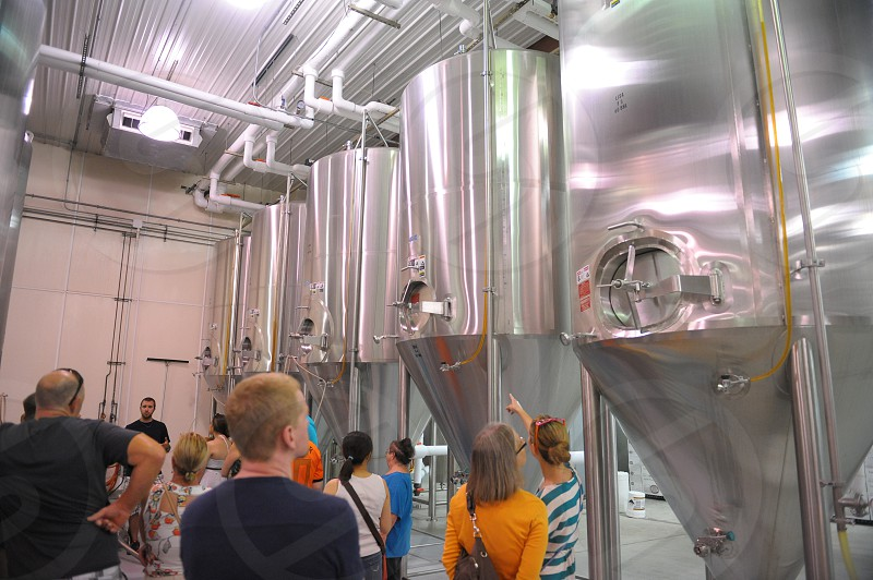 taking a #brewery #tour photo