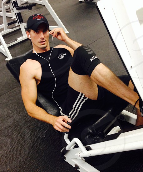Joey at gym photo