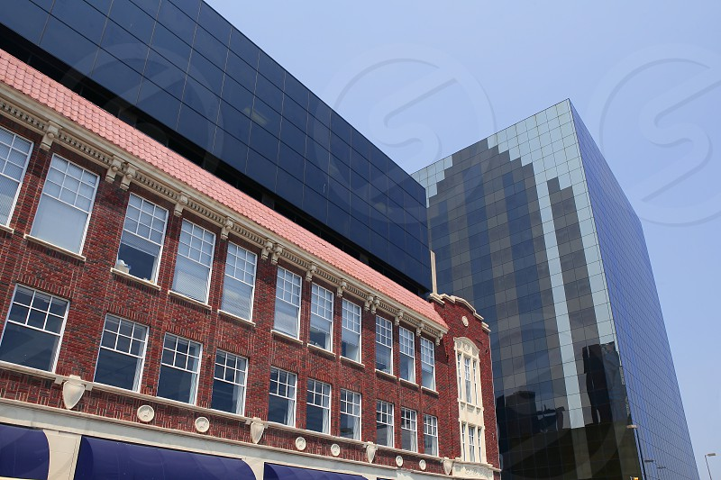 Dallas downtown city urban view with buildings photo