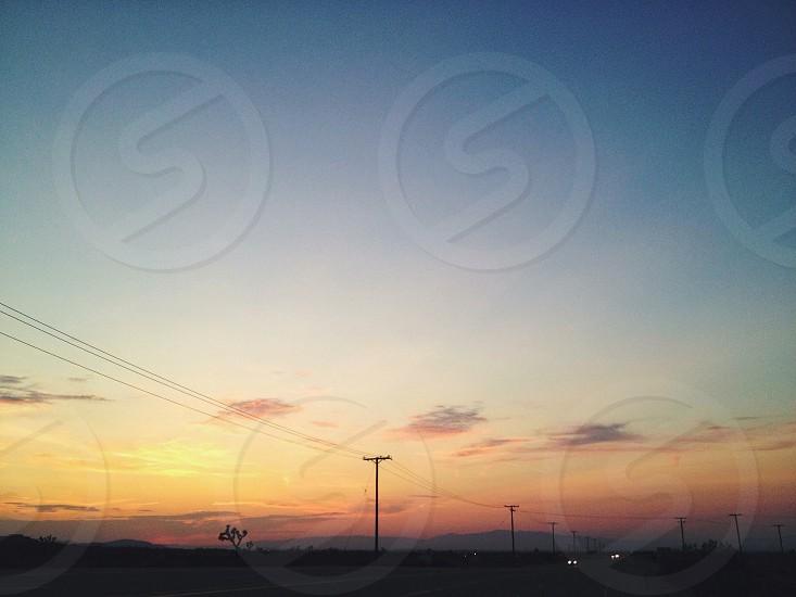 blue sky photo photo