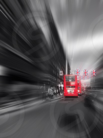 The Rush of London Streets photo