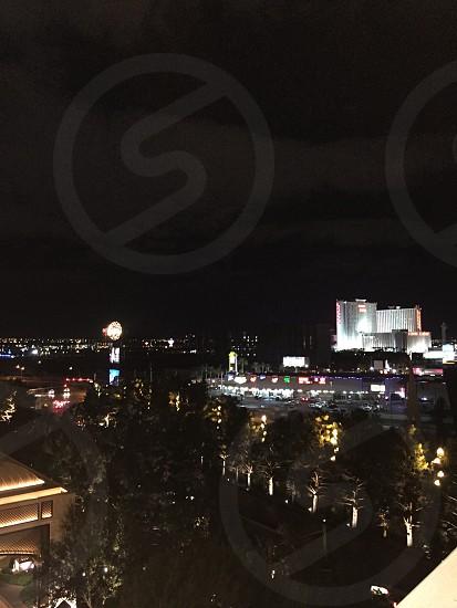 Las Vegas NV. City lights nights beauty. photo