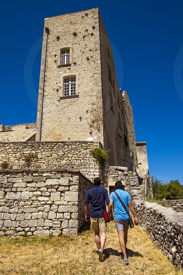 Village of Lacoste in Provence France Europe photo
