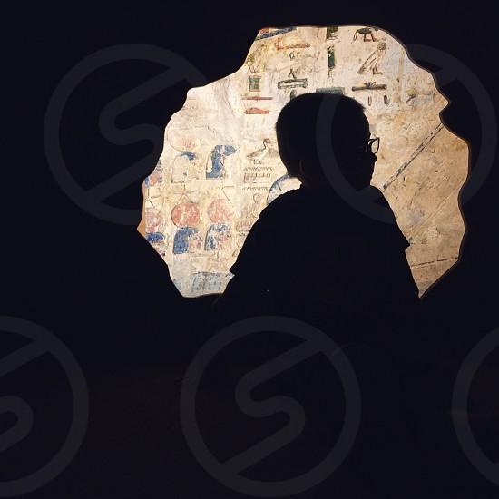 boy silhouette photo