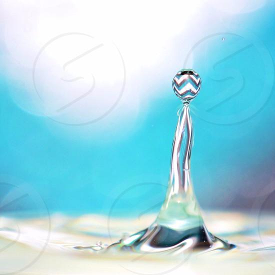 water drop photo