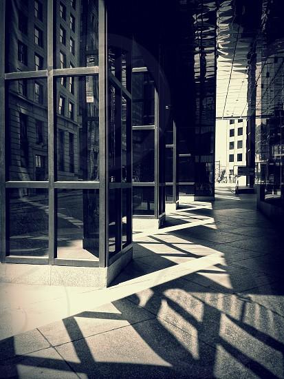 grey square floor tiles photo