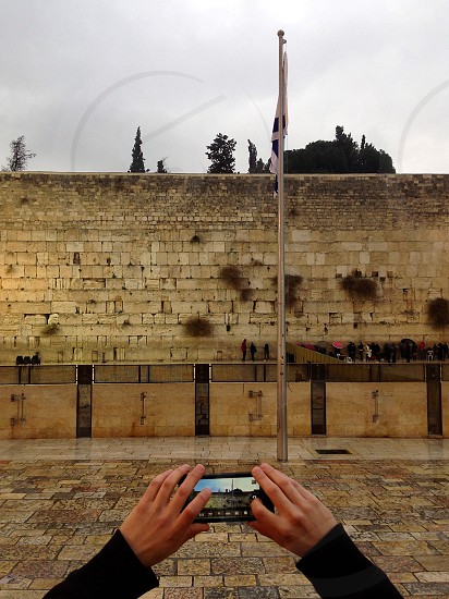 The Western Wall Israel. photo