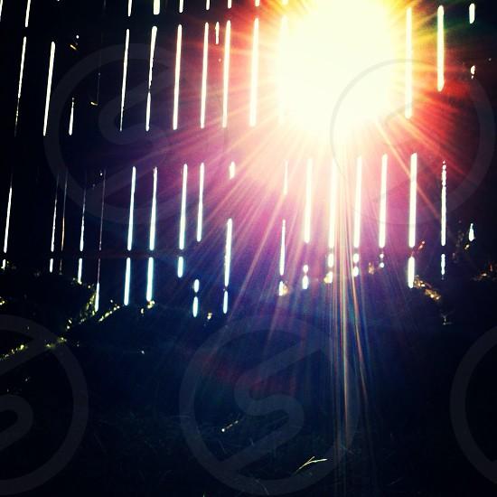 Sun rays into the Barn  photo