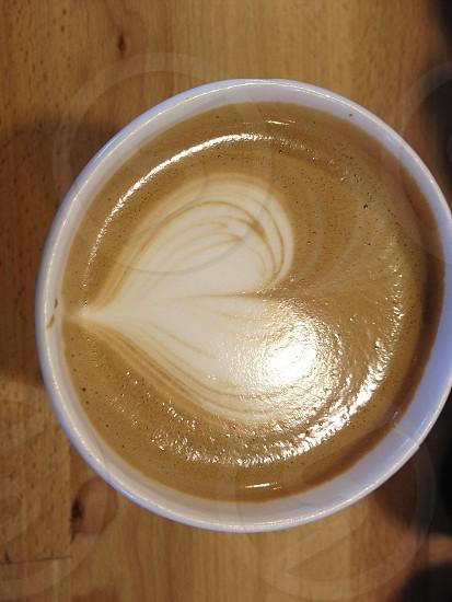 Coffee  coffee cup  heart shaped  photo