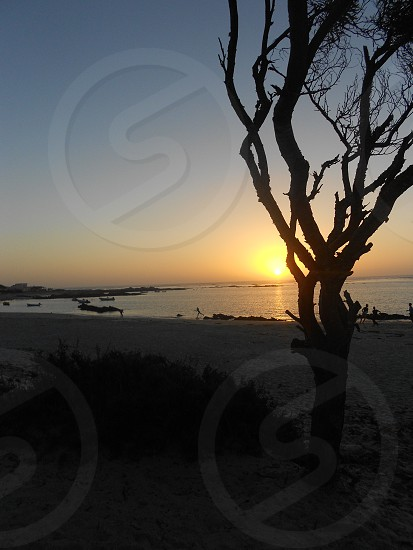 Sunsets over Port Nolloth ocean photo