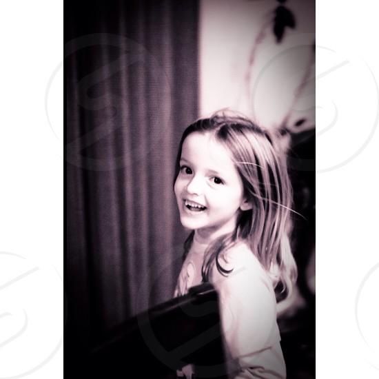 My step niece cheesing  photo