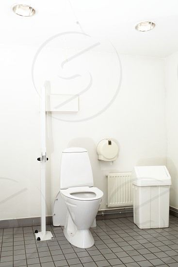 Restroom for mother and child and for the disable in the mall. photo