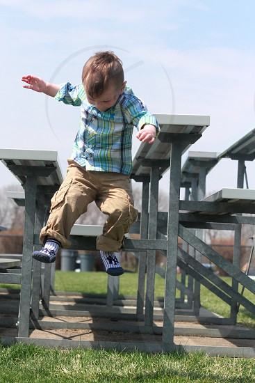 Taking the leap! photo