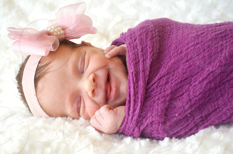 10 day old baby girl (my daughter Emily) photo