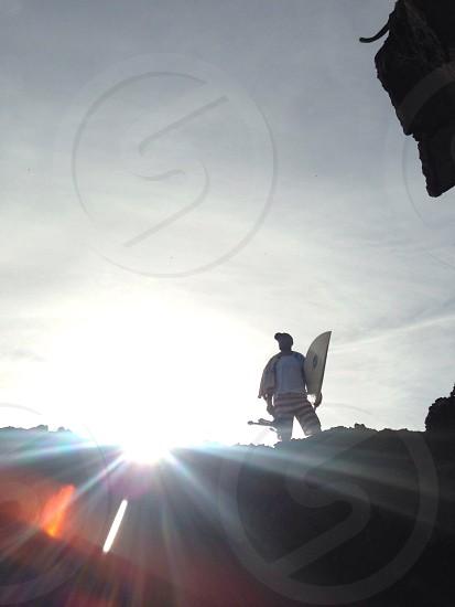 summer flare / shot in Nicaragua.  photo
