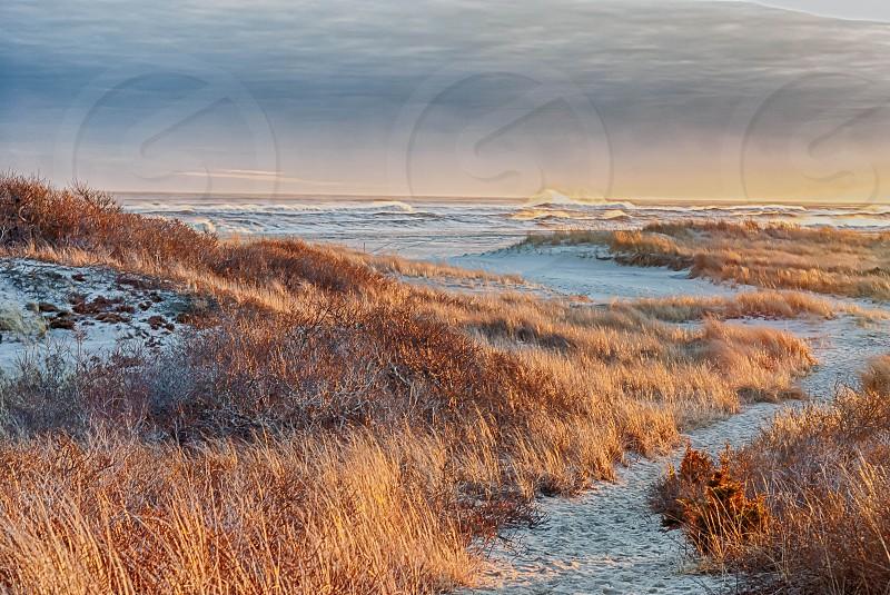 Smith Point Sunset photo