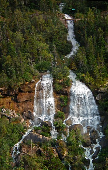 view of white falls photo