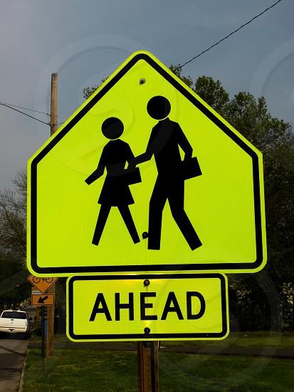 Pedestrian crosswalk sign traffic sign road sign signage icon symbol photo