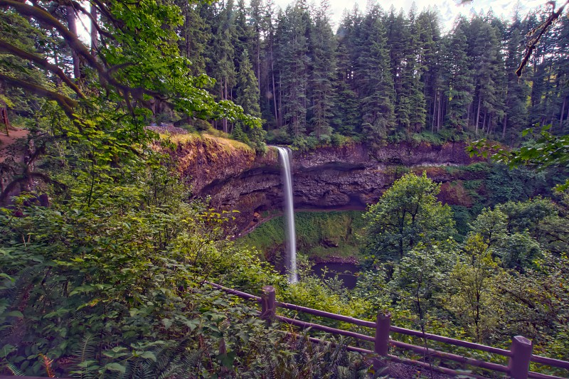 Silver Falls South Waterfall photo