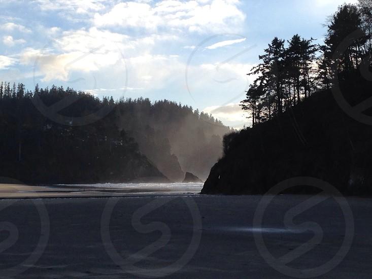 Morning mist.  photo