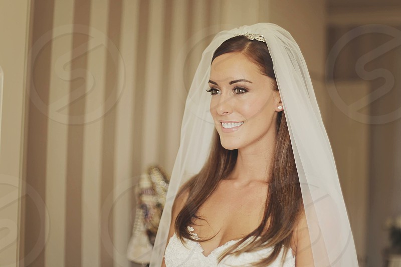Beautiful bride Victoria photo