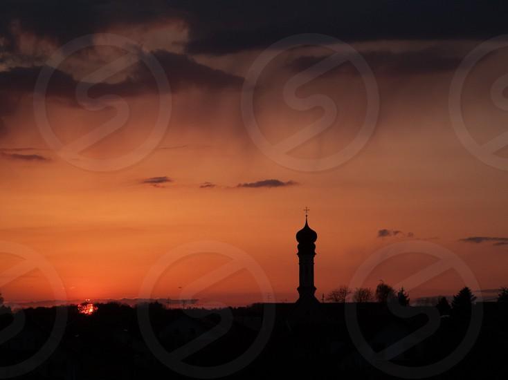 Bavarian Sunset photo