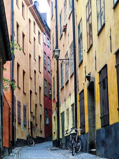 Gamla stan ( old city )in Stockholm  photo