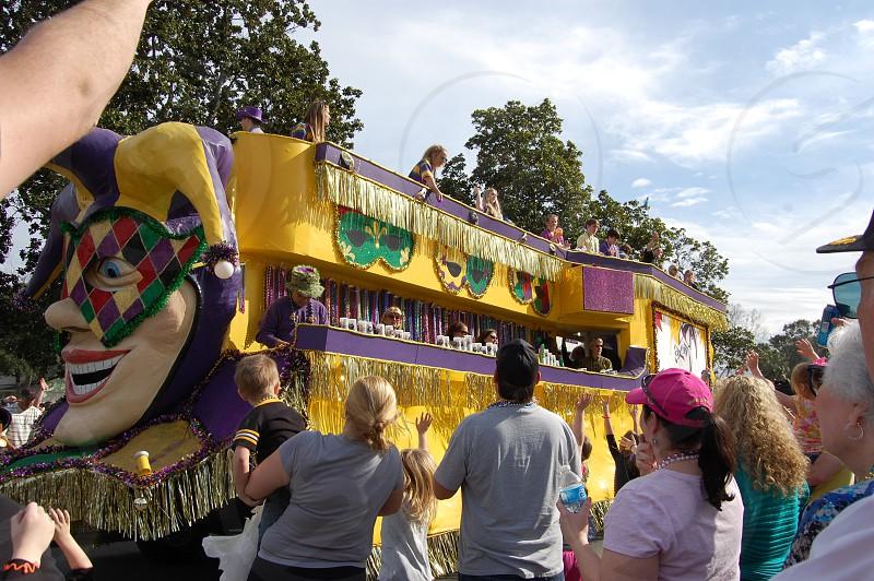 Louisiana Mardi Gras parade photo