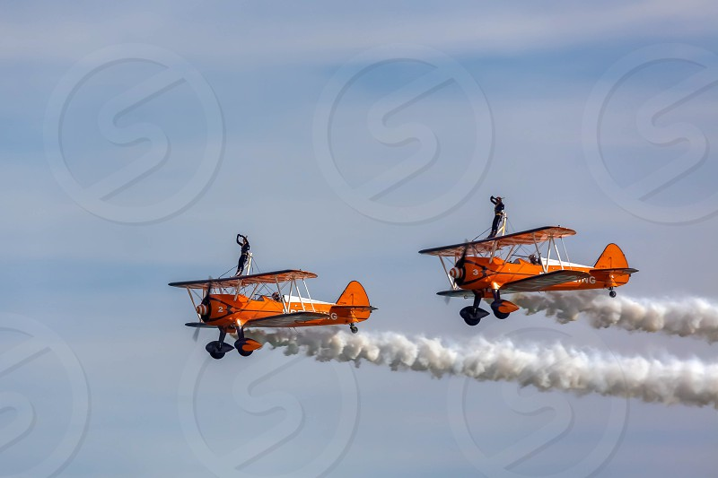 Breitling Wingwalkers at Airbourne photo
