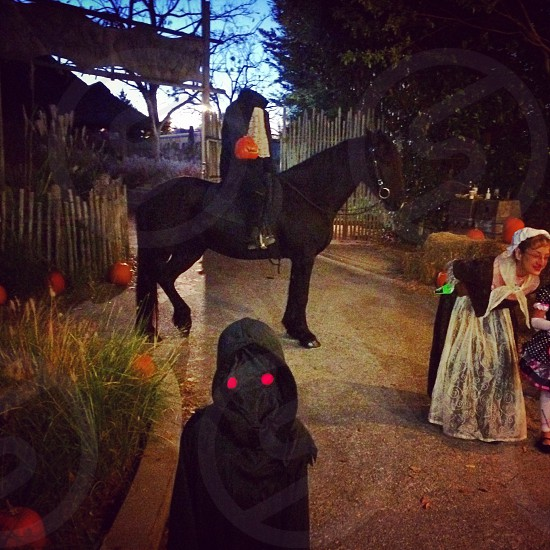 The Phantom and the headless horseman photo