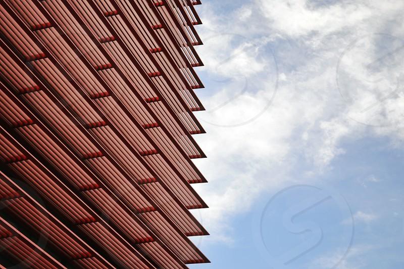 layered solar panel during daytime photo
