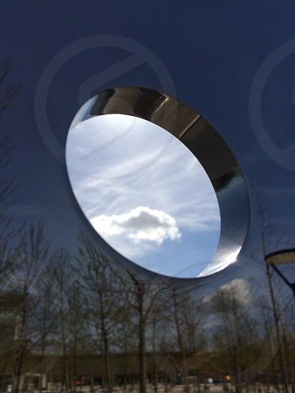 A hole to the sky photo