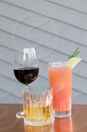 cocktails beverages copper bar top photo