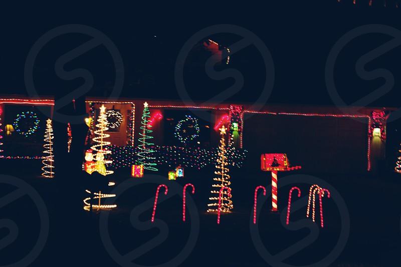 California Christmas photo