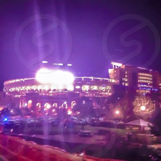 Neyland stadium at night  photo