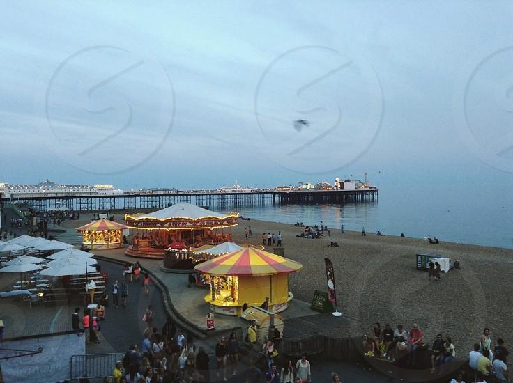 circus near beach photo