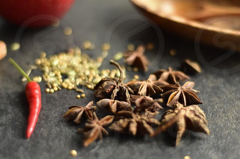 Anise star spices kitchen lifestyle  photo