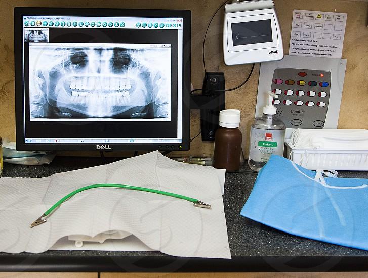 Inside a dental office  photo