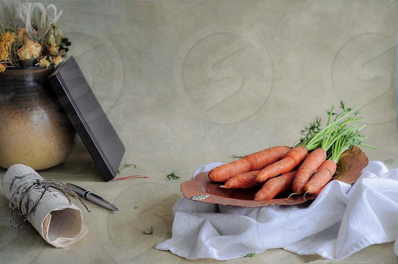 Carrots vegetables still life still life photography still life photo Vancouver photo