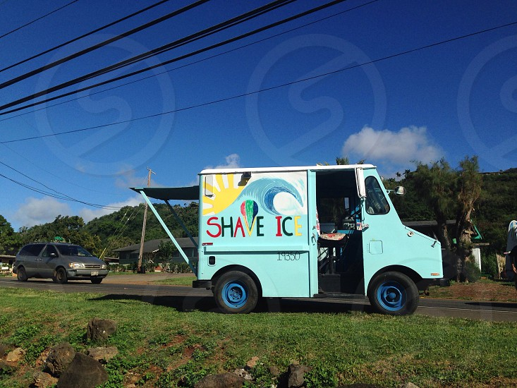 We all scream for shaved ice! photo