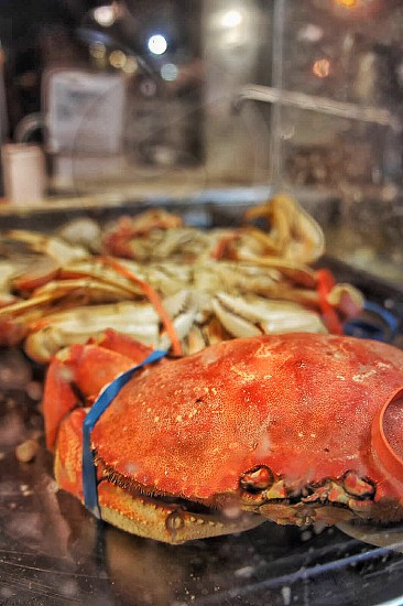 red cooked crabs photo