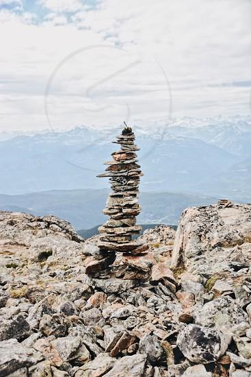 Balance stones mountain spirituality  photo
