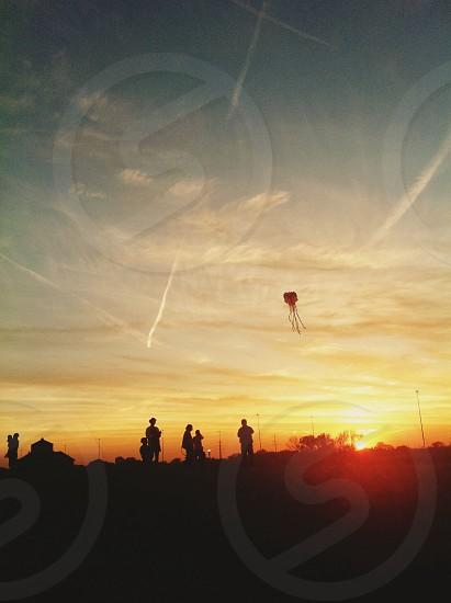 I love watching sunset  photo