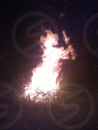 fire pit photo