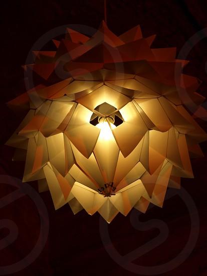 lamp light design contrast warm warmth creative imagination art photo