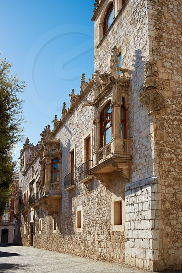 Casa de los Condestables house in Burgos also known as Casa del Cordon at Castilla Spain photo