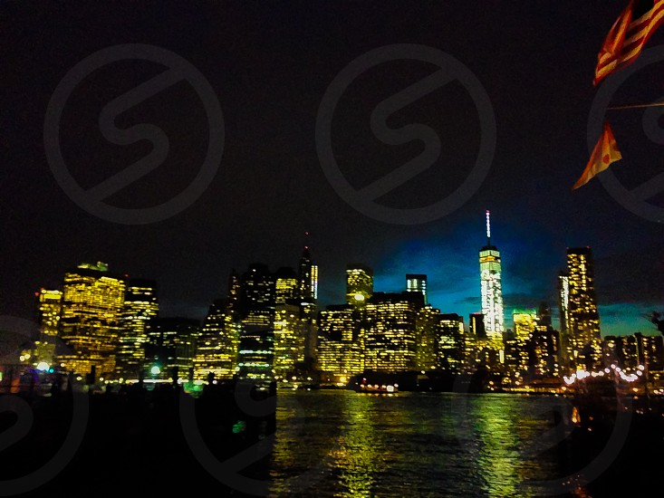 buildings near body of water panoramic photgraphy photo