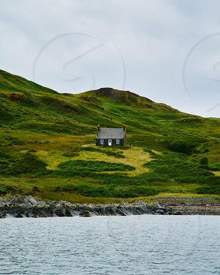 Scotland Europe travel vacation explore landscape scenic desolate ideal sea trip adventure remote tranquil peaceful getaway photo
